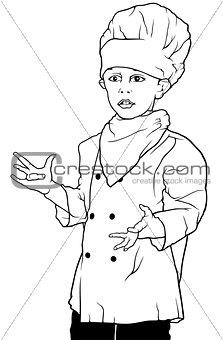 Little Chef Presenting
