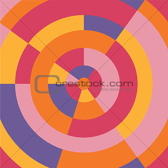 Circle colorful modern abstract background.