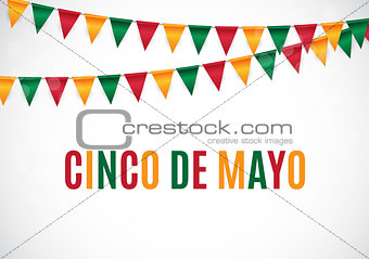 Cinco de Mayo holiday background. Vector illustration