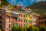 Colorful Buildings - Cinque Terre, La Spezia,Italy