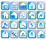 Icons House Vector Collection