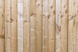 Small plank sectioned fence panel long background