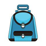 school bag color icon