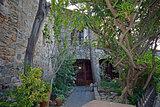 Houses of Castelnou in France