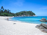 beautiful Haad Tien beach Koh Phangan