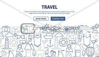 Travel Banner Design