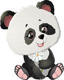 Cute Panda bear illustrations