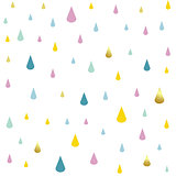 kids pattern rain drops