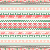 Ethnic striped seamless pattern geometric design