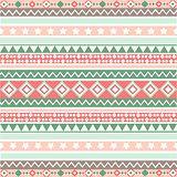 Ethnic striped seamless pattern geometric design