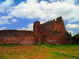 Palace of Iyasu, grandson of Fasilidas in Fasil Ghebbi site , Gonder