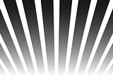 Shiny abstract background. Black and white striped pattern similart to poster