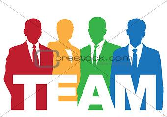 Good business team