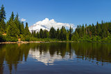 Mount Hood by Mirror Lake