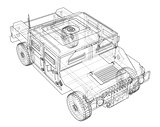 Combat car blueprint