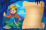 Miner theme parchment 1