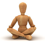 Relaxing with meditation