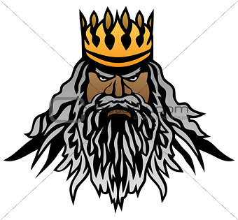 King Vector Illustration