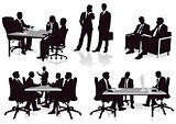 Meeting and consultation in the office