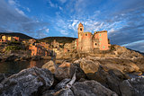 Tellaro Village at Sunset - Liguria - Italy