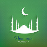 Illustration of Ramadan Kareem Background