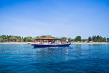outriiger dive boat gili air island indonesia