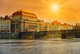 The National Theater in Prague.