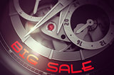 Big Sale on Elegant Watch Mechanism. 3D.