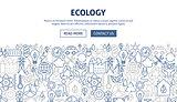 Ecology Banner Design