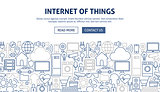 Internet of Things Banner Design
