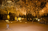 King's Palace in Carlsbad Caverns National Park, New Mexico