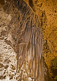 Draperies in Carlsbad Caverns National Park, New Mexico