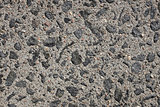 Exposed aggregate concrete paving background