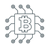 bitcon chipo icon outline