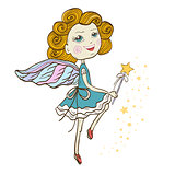 Dancing Fairy with magic wand