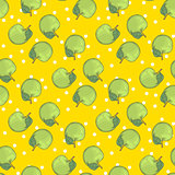 Aple seamless pattern