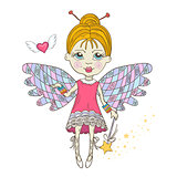 Cute Fairy with magic wand