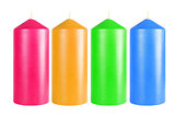Decorative Colourful Candles