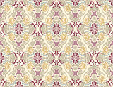 Damask Pattern in Pastel Colors