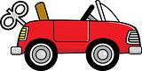 Cartoon Toy Wind Up Car