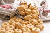 Traditional Italian Tarallucci snack