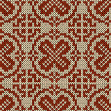Seamless knitted orient ethnic pattern