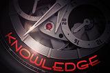 Knowledge on the Luxury Wristwatch Mechanism. 3D.