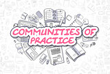 Communities Of Practice - Business Concept.