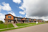 Row of Brand New Townhomes For Sale