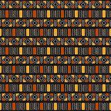 Tribal seamless pattern in African style.