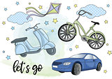 Clip Arts BLYTHE TRANSPORT