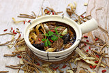malaysia bak kut teh, traditional chinese herbal pork ribs soup