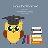 Happy teachers day concept background Vector Illustration EPS10