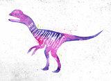 Dynosaur dilophosaur vivid